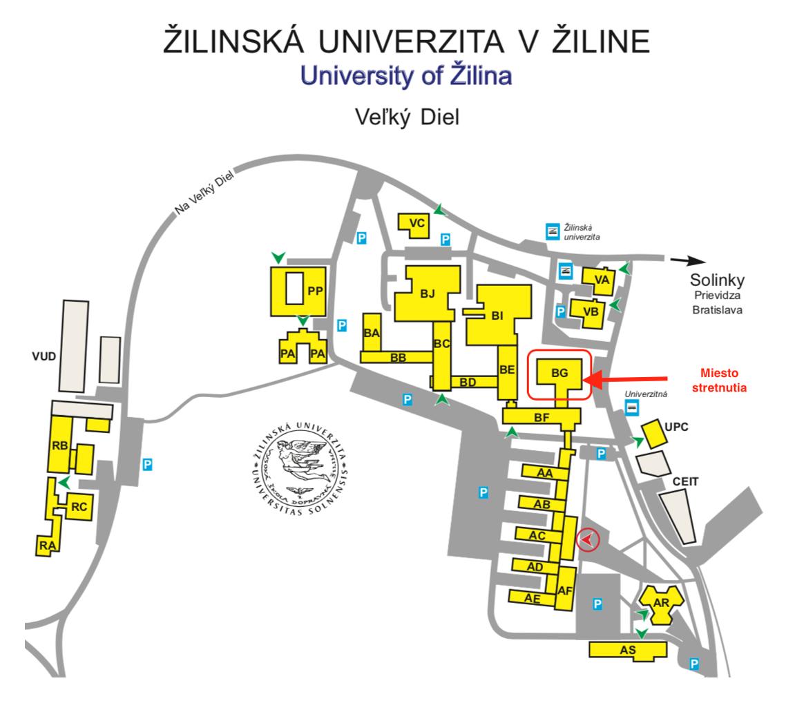 Mapa ZU